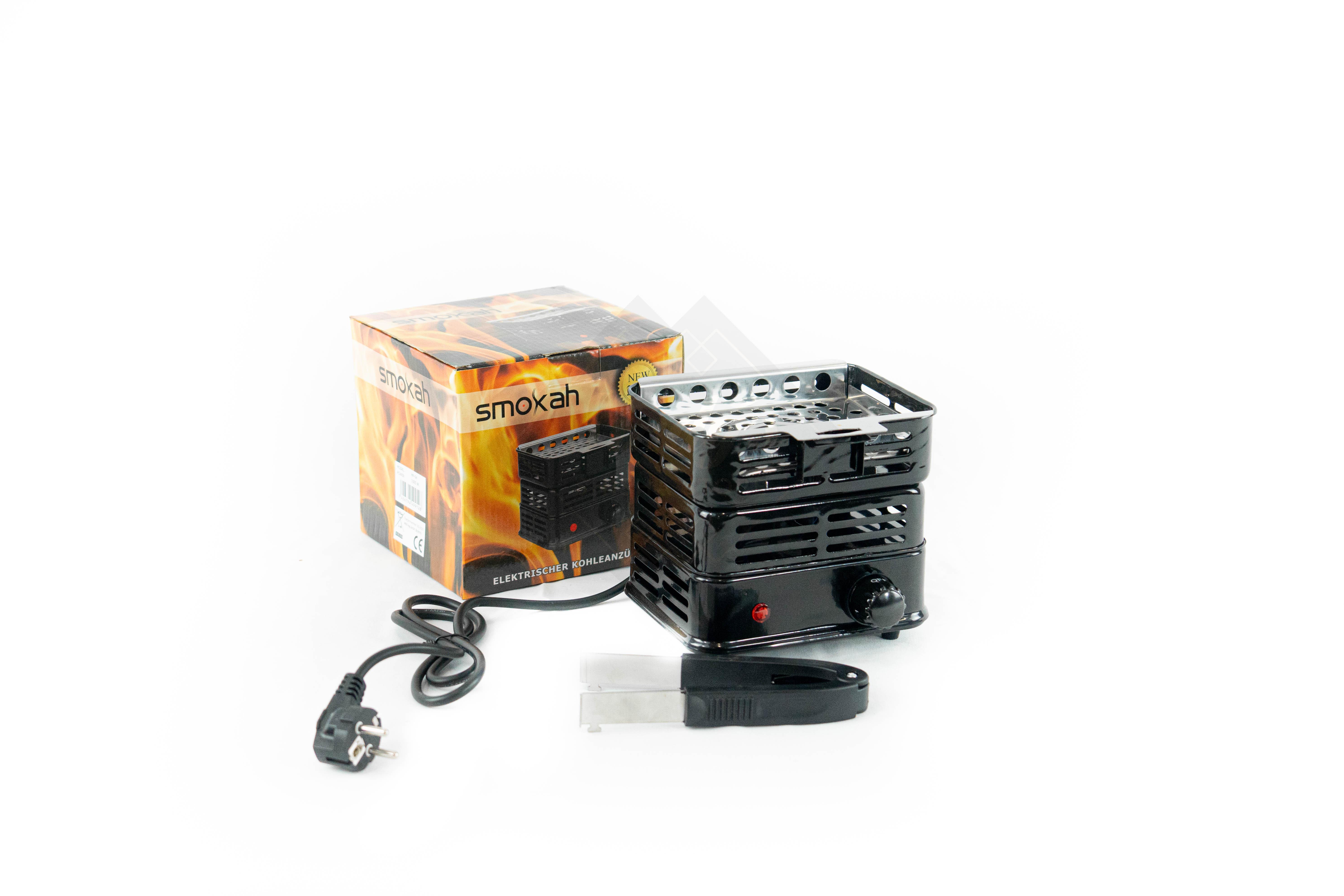 Smokah Kohleanzünder Elektrisch 800 Watt HP-04