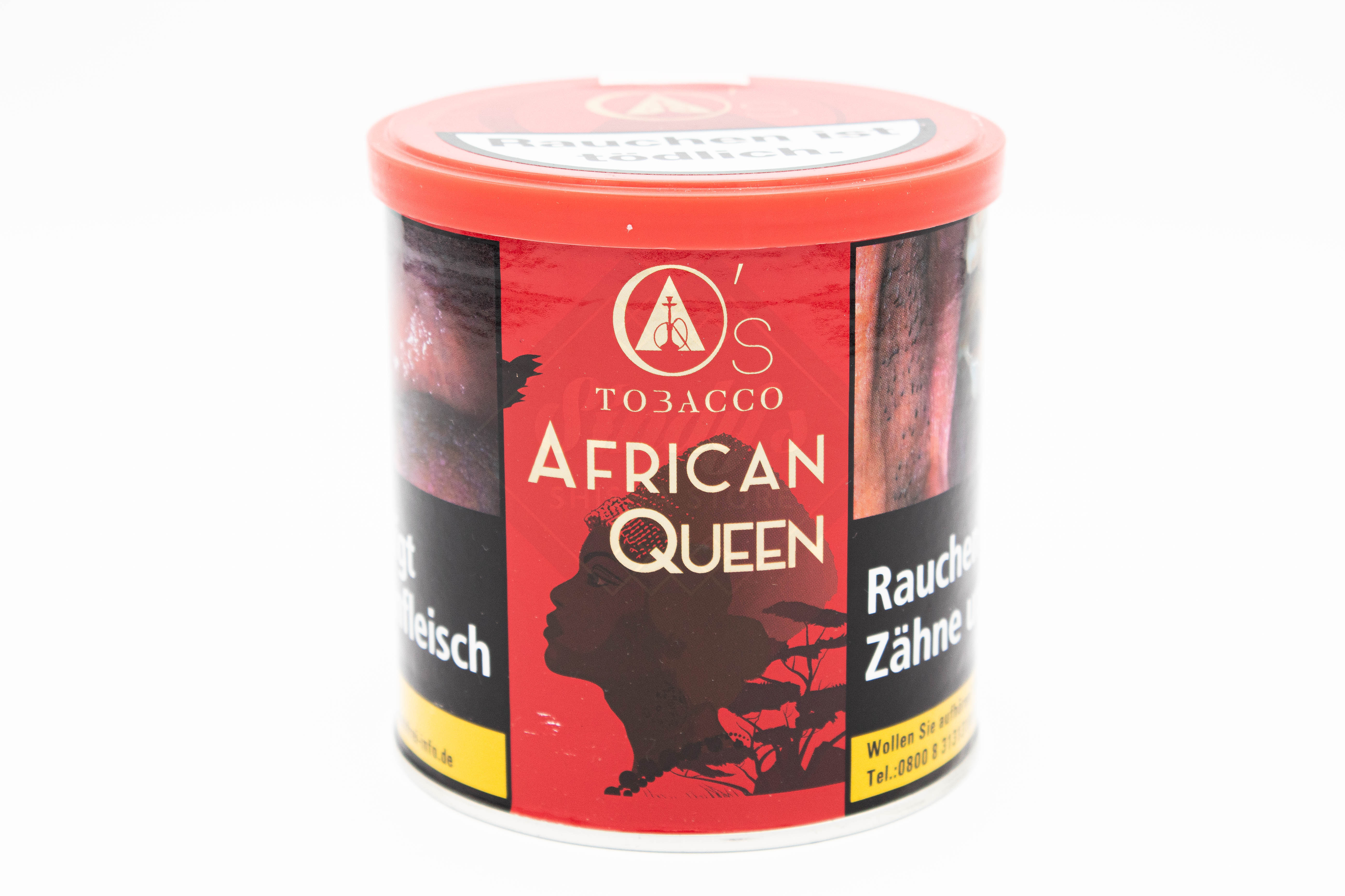 O's Tobacco Red - African Queen 200g