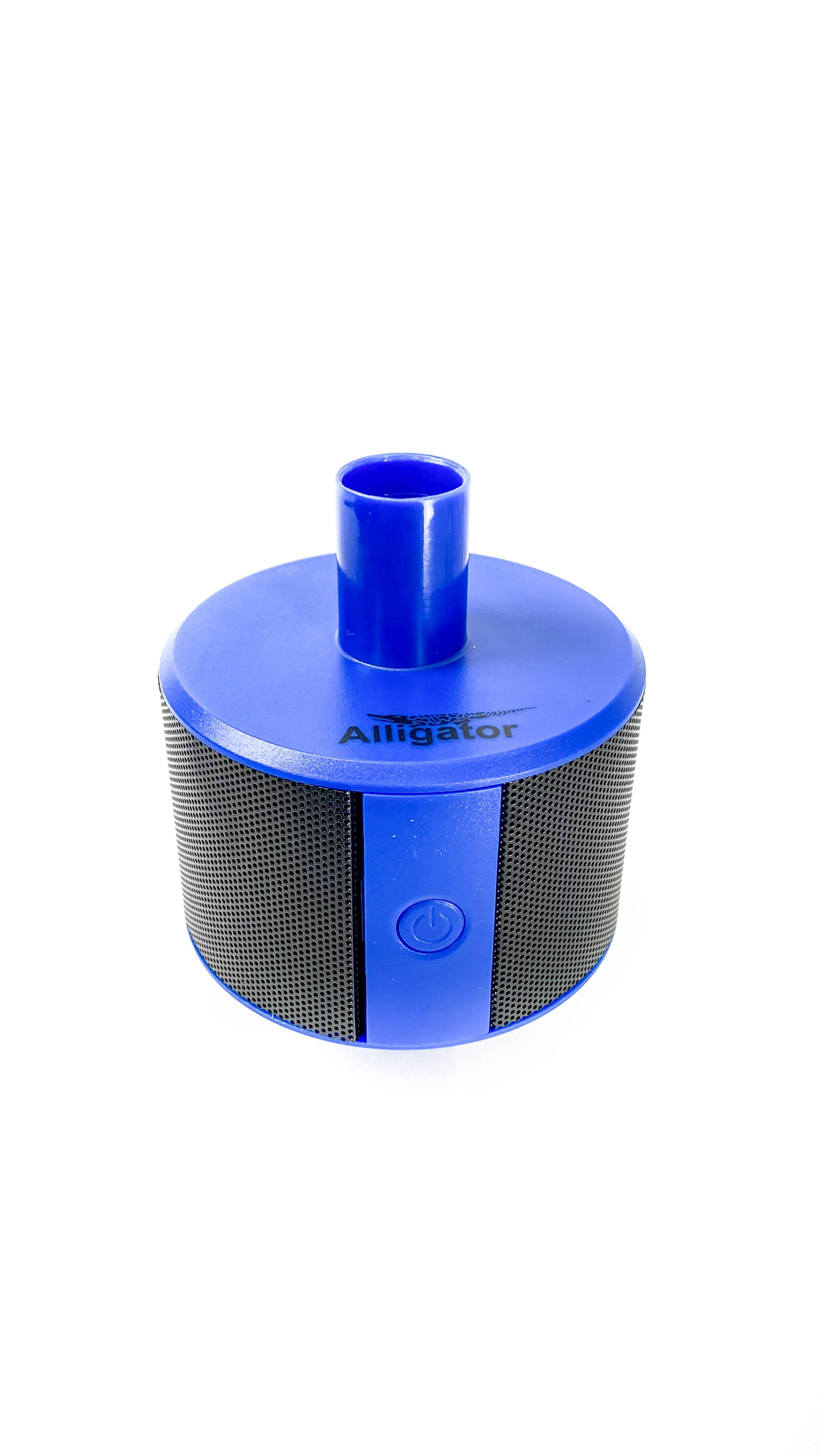 Alligator - Shishaspeaker Blau