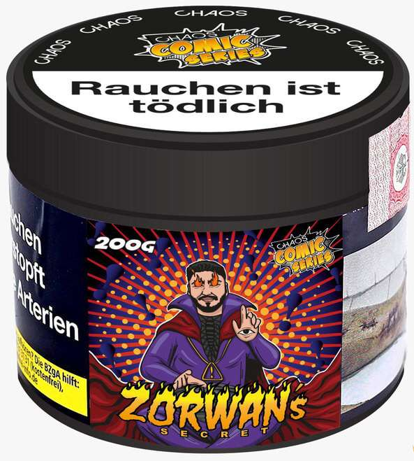 Chaos Tabak - Zorwan's Secret 200g