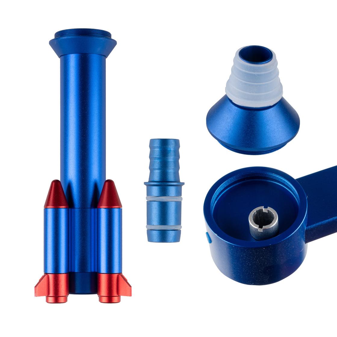 Smokah Shisha Rocket Alu Blue