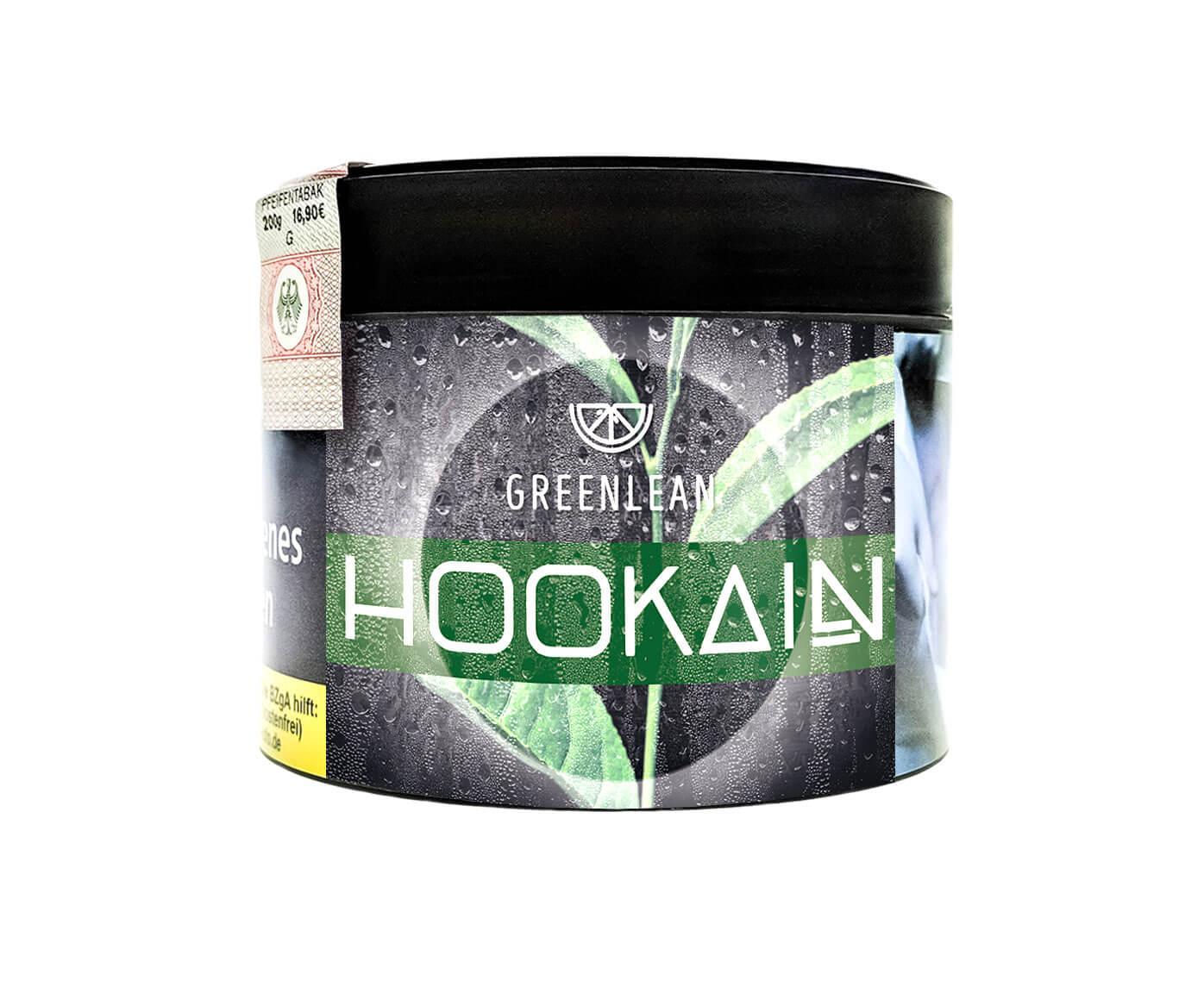 Hookain Tobacco - Green Lean 200g