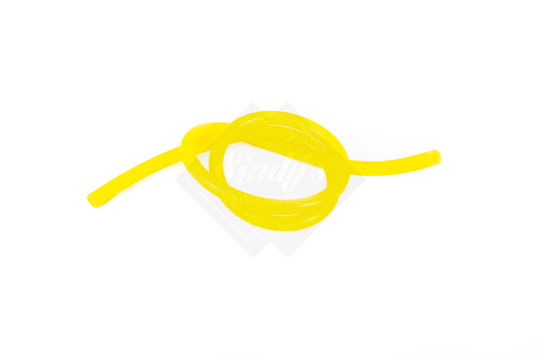 Silikonschlauch Glänzend Gelb