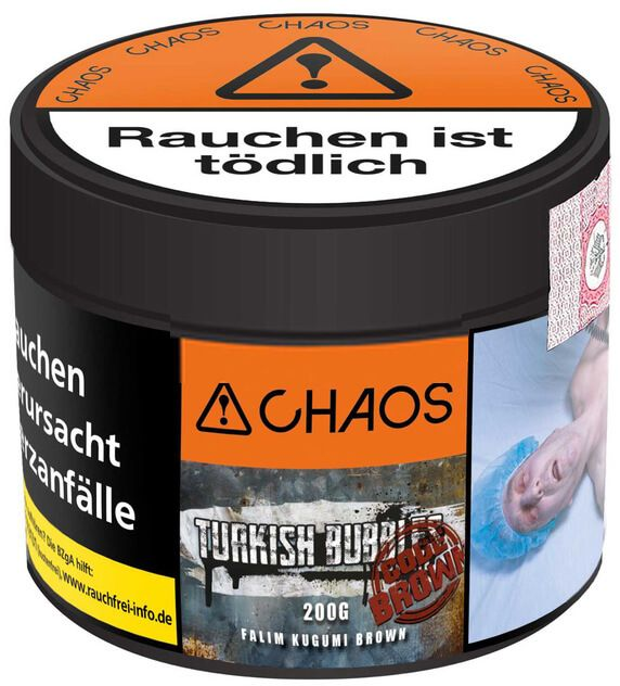 Chaos Tobacco - Turkish Bubbles Code BROWN 200g