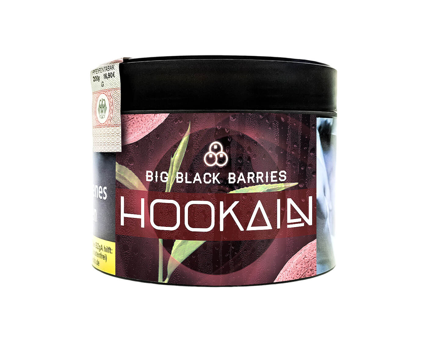 Hookain Tobacco - Big Black Barries 200g