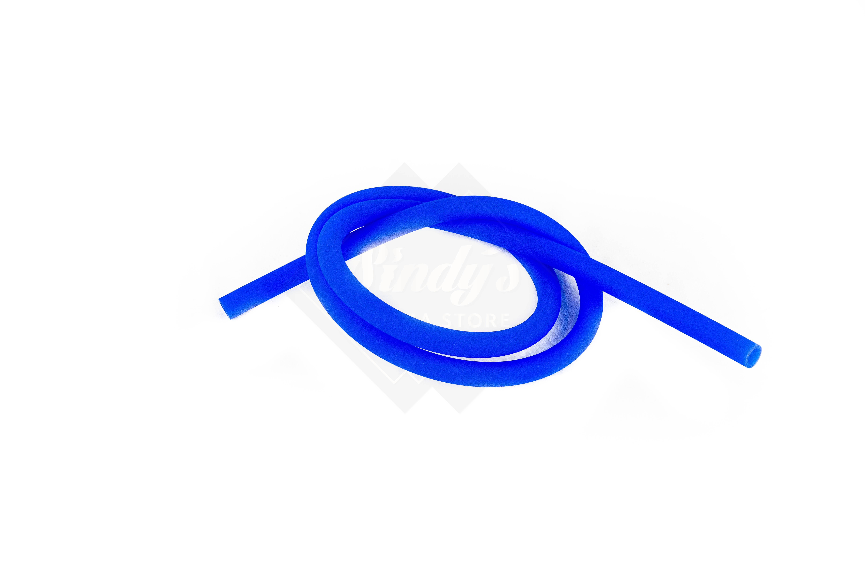 Silikonschlauch Blau Matt