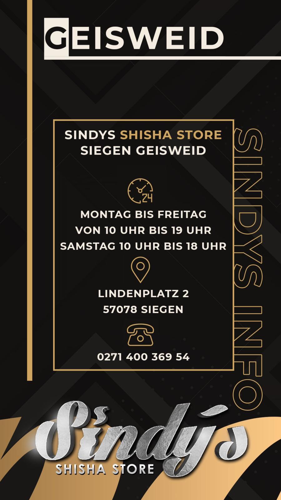 Sindys Shisha Store Geisweid
