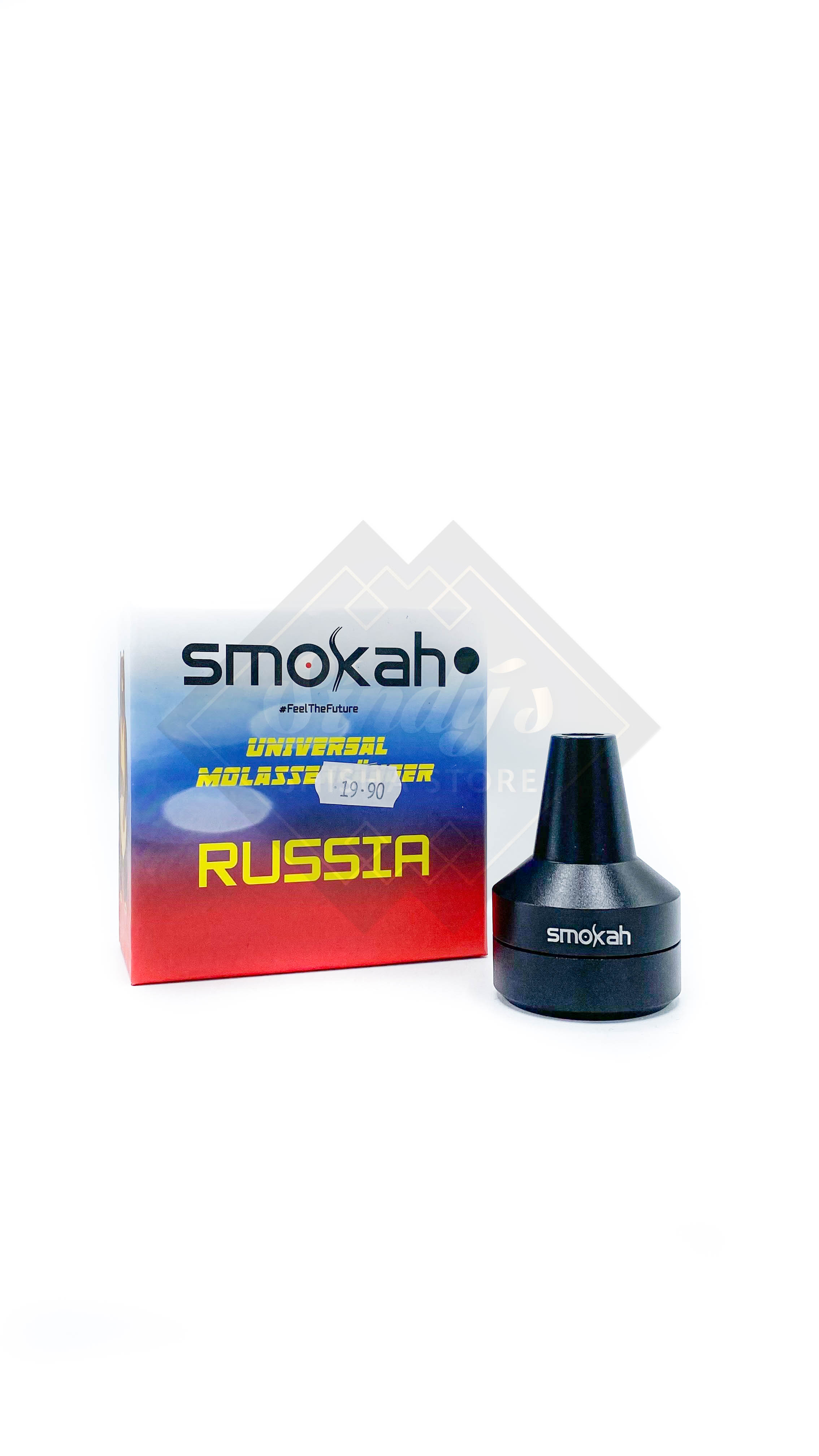 Smokah Molassefänger Russia Schwarz