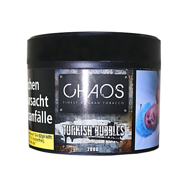 Chaos Tobacco -  Turkish Bubbles  200g
