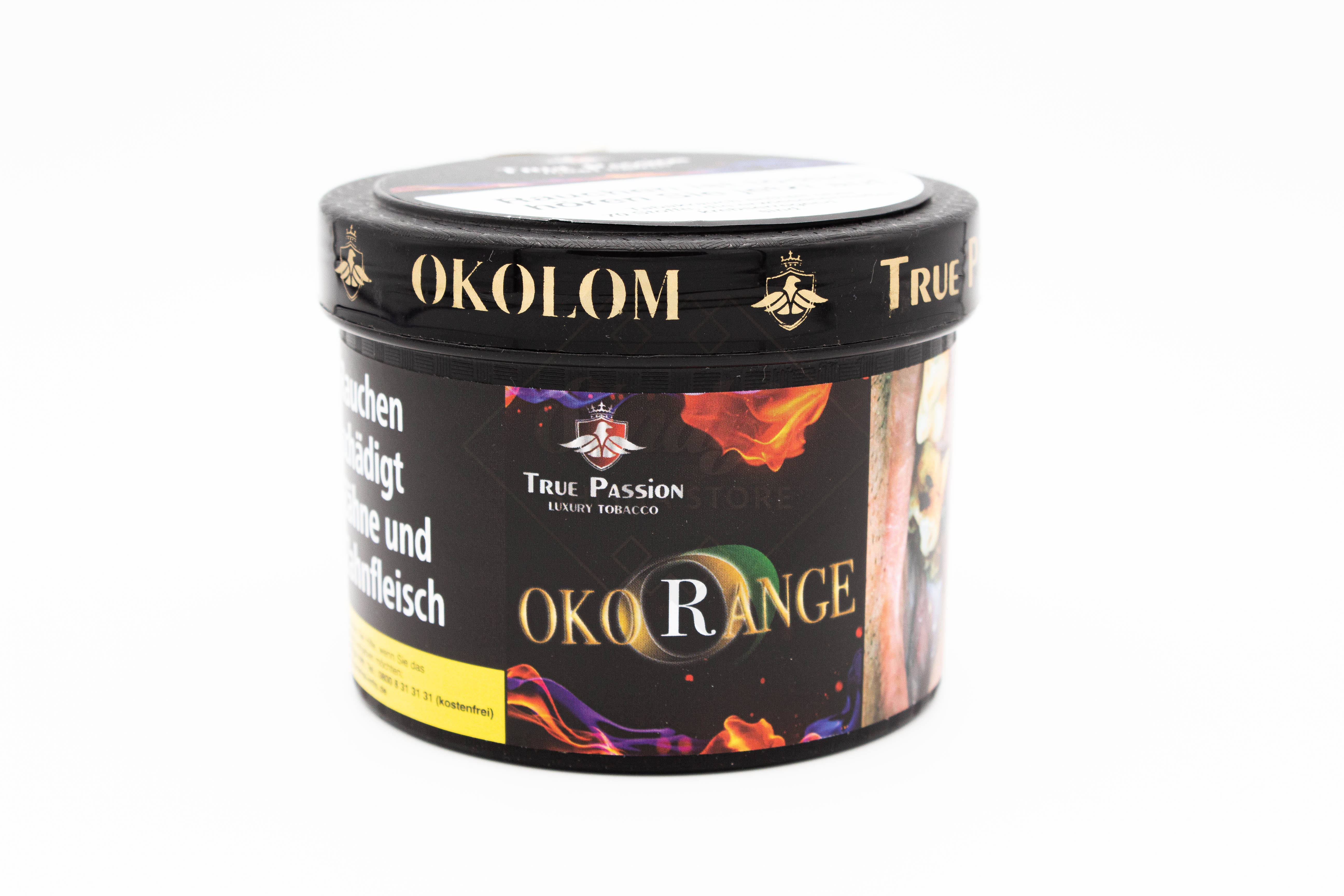 True Passion Tobacco - Okorange 200g
